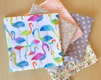 Reusable snack bag in cotton