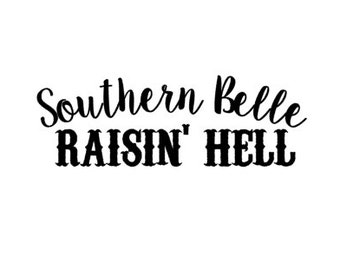 Southern Wall Decal Etsy