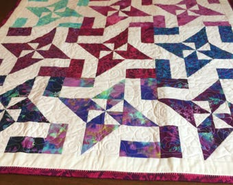Mariposa Meadows Patchwork Quilt by Dalgleish Clothworks