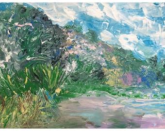 Blurred Monet