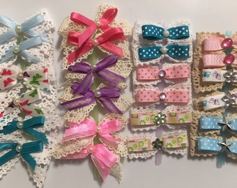 Lovely Lace Bows