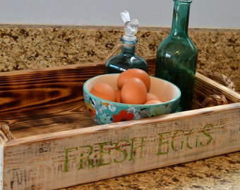 Rustic Wooden Crate/Tray