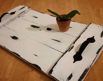 Rustic kitchen tray