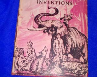 Vintage Rudyard Kipling book from 1939,'Many Inventions'