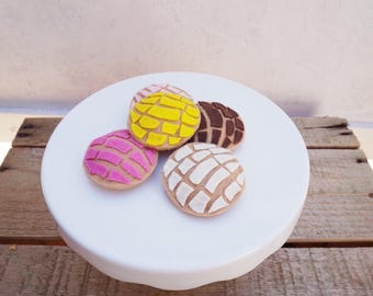 Pan Dulce Magnets-Mexican Sweet Bread Magnets- Concha Magnets-Kitchen Magnets-Home Decor