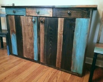 Rustic Buffet Distressed Server