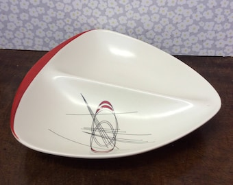 Carltonware Orbit Serving Dish Platter 1957