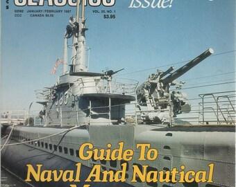 Sea Classics Magazine Vol. 20 No. 1 JAN/ FEB 1987 Special 20th Anniversary Isssue
