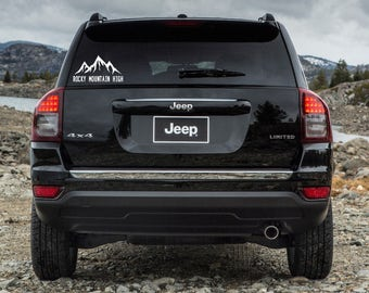 FreeShipping,RockyMountainHighDecal,ColoradoMountains,VehicleDecal,MountainLover