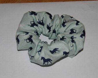 Hair ruffle / scrunchie horse pony equestrian show