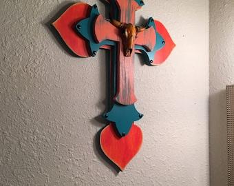 Bright southwestern 3d cross