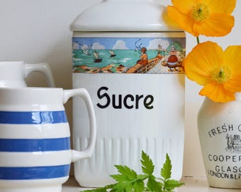 French 1930's Sugar Canister