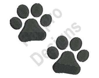 Paw Prints - Machine Embroidery Design
