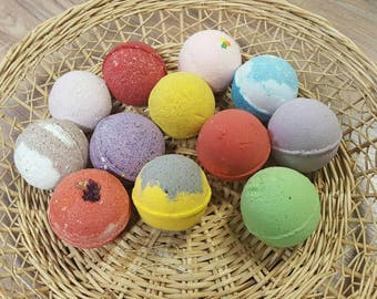 Set of 12 Bath Bombs