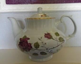 Vintage Chodziez Tea Pot Made In Poland