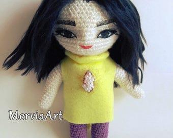 Björk Vulnicura doll by MerviaArt (Stonemilker inspired)