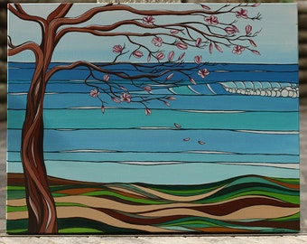Magnolia Tree at the Beach
