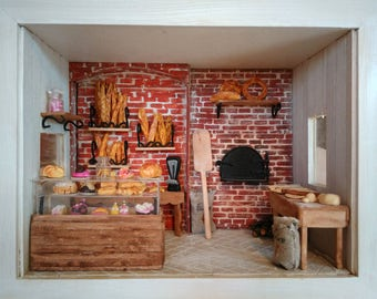 Miniature Shop - French Bakery