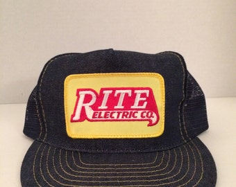 Rite Electric Trucker Hat