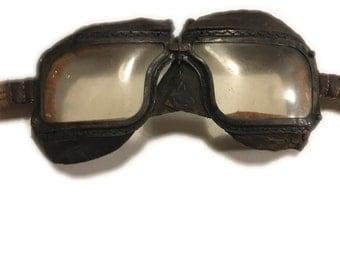 RAF aviator goggles