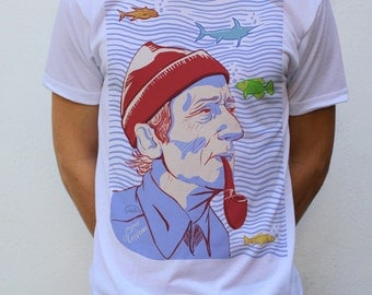 Jacques-Yves Cousteau T shirt