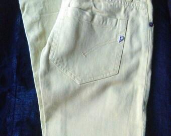 Women's Capri pants lime green