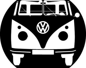 Camper Van vinyl sticker