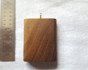 Walnut Necklace Pendant