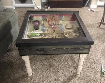 Tables or shadow boxes