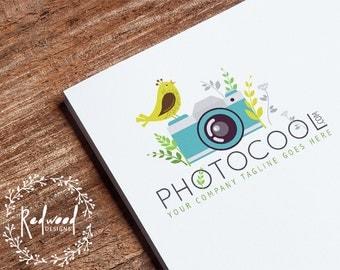 Premade Logo | Logo Design | Photography Logo | Photographers Logo | Retro Logo | Simple Logo | Vintage Logo | Classy Logo