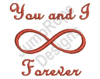 Infinity Forever - Machine Embroidery Design