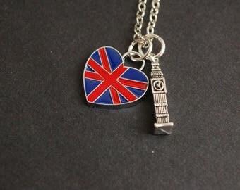 I love London necklace