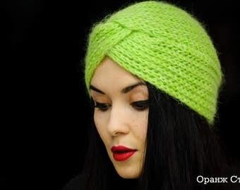 Chalma Neon Green Hat