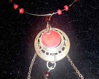 Rays of sun necklace