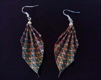 origami #20 earrings