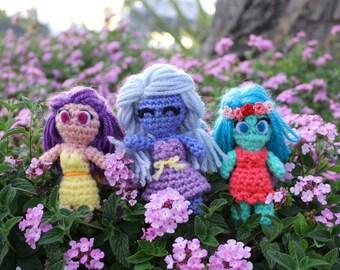 Crochet Fairies, Amigurumi Fairies, Fairy Plushies
