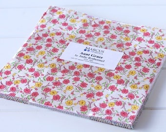 """Aunt Grace 10"""" Squares (Layer Cake) by Judie Rothermel, for Marcus Fabrics"""