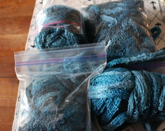 30 Yarn for making ruffled scarves
