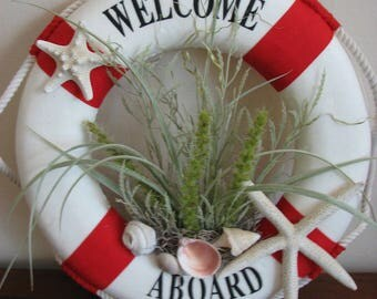 Welcome Aboard Wreath