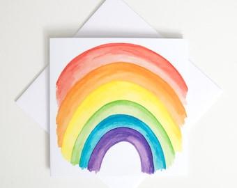 Greeting Card - Mini / Rainbow