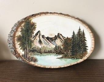 Watercolored Custom Woodburn