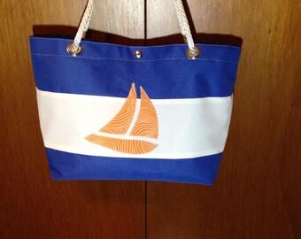 Sailboat Shoulder Bag