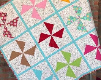 Candy Pinwheel Quilt