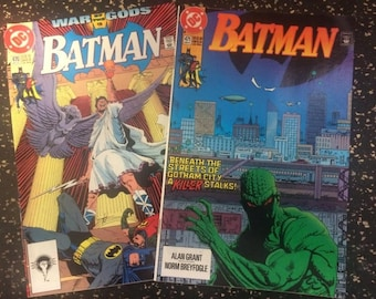 Batman # 470 & # 471 Comic Lot by DC Comics