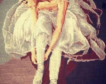 Ballerina tying points