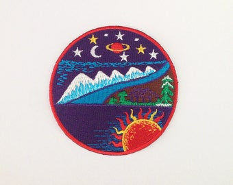 Beautiful nature patch Iron on patch
