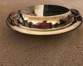 WM Rogers Silverplate Casserole Dish