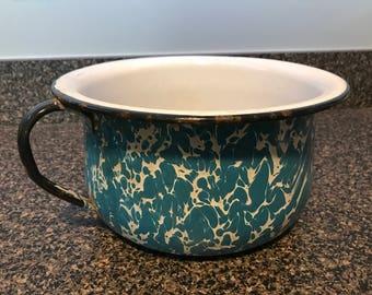 Vintage Agot Pot with Handle