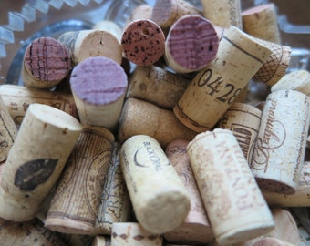 LAST LOT 180 Used Wine Corks - Real Cork - No Synthetic