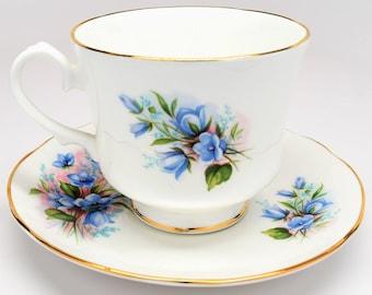 DUCHESS BONE CHINA Tea Cup and Saucer ~ Duchess Tea Cup and Saucer ~ Duchess Tea Sets ~ Collectible Tea Cup and Saucer ~ Tea Sets ~ Tea Cups